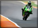Kawasaki Ninja ZX-RR on the Track, MotoGP Race, Mugello, Tuscany, Italy
