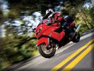 2006 Kawasaki Ninja ZX-14 on the Road, Red