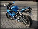Triumph Daytona 675 Triple, Blue
