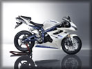 Triumph Daytona 675 Triple, White
