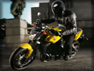 2006 Yamaha FZ1, Black/Yellow