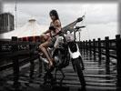 2010 Yamaha Scorpio Z225, Bikes & Girls