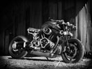 Confederate X132 Hellcat, Black & White