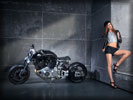 Confederate X132 Hellcat, Bikes & Girls