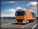 2013 DAF XF Euro 6, Orange