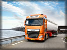 2013 DAF XF Euro 6, Orange