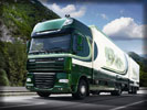DAF XF 105, Green