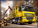 DAF CF 85, Yellow