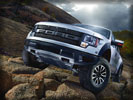 2012 Ford F-150 SVT Raptor on the Rocks