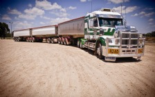 Freightliner 122SD Road Train