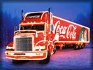 Freightliner Christmas Truck, Coca-Cola