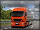 Iveco Stralis Hi-Way on the Road, Orange
