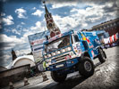 Kamaz, Dakar Rally, Red Square, Moscow
