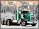 Kenworth Truck, Green