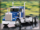 Kenworth Truck, Blue