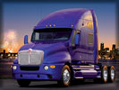 Kenworth Truck, Purple