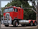 Kenworth Truck, Red