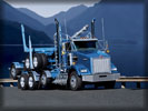 Kenworth T800, Blue