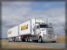 Kenworth Truck, White