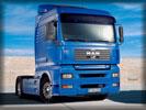 MAN Truck, Blue