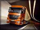 Mercedes-Benz Axor on the Road
