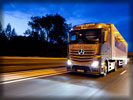 Mercedes-Benz Actros on the Road