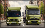 Mercedes-Benz Axor & Atego Trucks