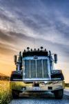 Peterbilt 378, Tuning, HDR, Sunset
