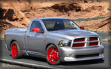 2011 RAM 392 Quick Silver, Red Rims, Tuning