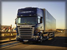 Scania R490 on the Road, Blue