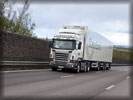 Scania R480 on the Road, White