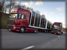 Scania R730 Trucks on the Road